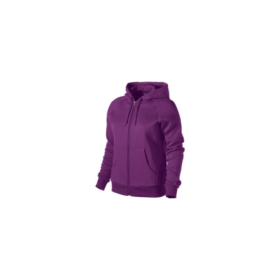 Nike Womens Purple 342588 Hooded Top Zip Up Hoody