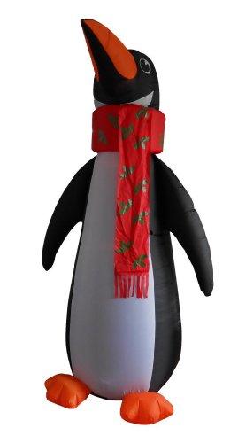 8 Foot Christmas Inflatable Penguin 2013 Yard Garden Decoration