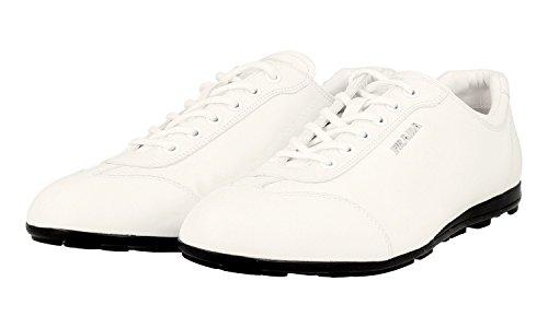 Prada Dames 3e4900 Lederen Sneaker