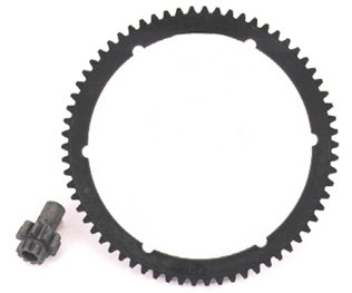 Starter ring gear bdl only w/9 tooth pinion gr bt 94/l 66t ring gear 6-7/8
