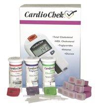 Kit de cholestérol CardioChek Analyseur de démarrage avec 3 comptage des bandelettes de test de cholestérol par des panneaux PTS