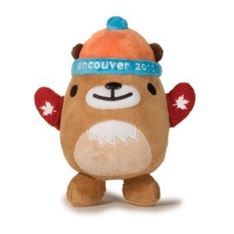 (2010 Vancouver Olympic Plush MukMuk Red Mittens )