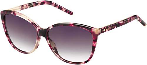 Marc Jacobs Women's Marc69s Cateye Sunglasses, Pink Havana/Mauve Gradient, 58 ()