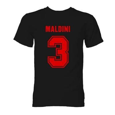 Paolo Maldini AC Milan Hero T-Shirt (Black)