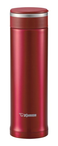 Zojirushi SM-JA48RA 0.48-Liter Stainless Steel Vacuum Insulated Mug, Red