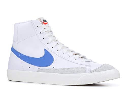 Nike Men's Blazer Mid 77 VNTG, Pacific Blue/SAIL-White, 9.5 M US