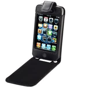 Roots Sports Leather Case (Black) for iPhone 4S, iPhone 4