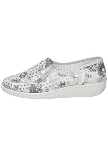 Comfortabel Damen-Slipper Weiß 942179-3 weiß Sb7HBm