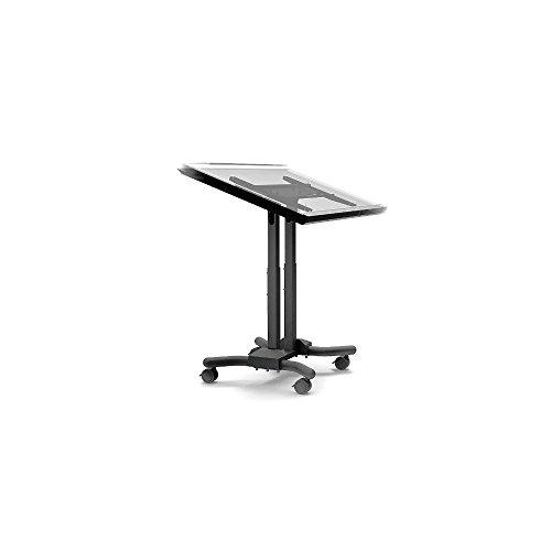 Kiosk Cart - Cotytech Adjustable Ergonomic Mobile touchscreen Cart for 32 inch - 56 inch