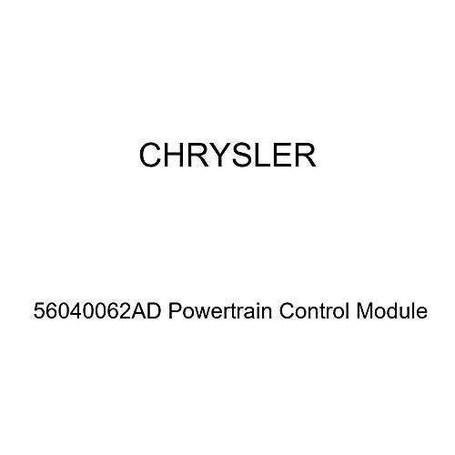 (Genuine Chrysler 56040062AD Powertrain Control Module)