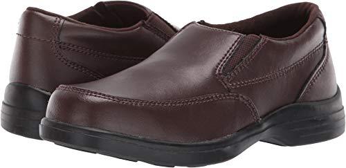 Toddler Brown Footwear (Hush Puppies Shane Uniform Dress Shoe (Toddler/Little Kid/Big Kid), Brown, 9 M US Toddler)