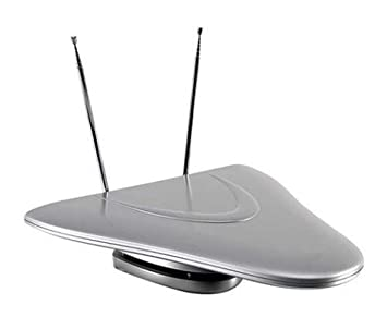 Philips PHDTV3 Indoor Amplified UHF/VHF/FM/HDTV Antenna (Discontinued by Manufacturer)