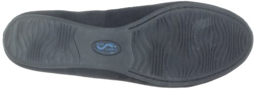 Black Ballet Suede SoftWalk Women's Flat Narina TUcqHPRzW