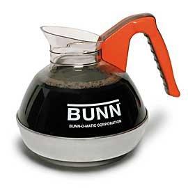BUNN Easy Pour 64 Oz Orange Coffee Decanter / Case of 12 - Pack = 12