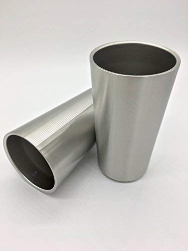 450 mL (15 ounce) Stainless Steel Double-wall Insulated Cups - Two Per Package