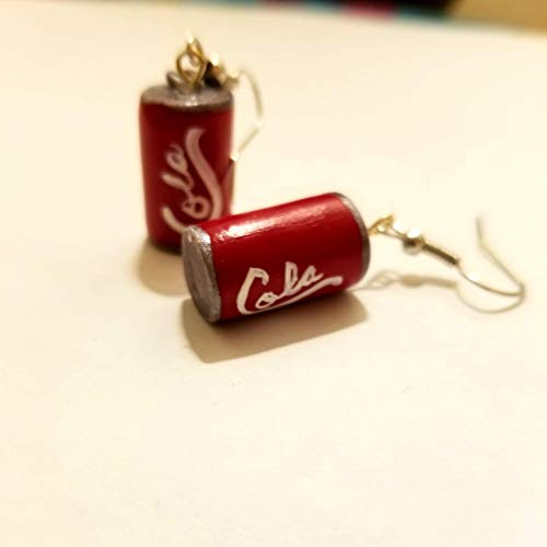 Cola Can Earrings