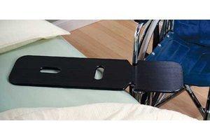 Black Plastic Transfer Board Transfer Board With Hand Holes Only - Model 552897 by Sammons Preston