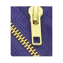 """25\"""" Medium Weight Jacket Zipper YKK #5 Brass ~ Separating ~ 866 Deep Purple (1 Zipper/pack)"""