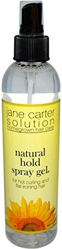 Jane Carter Solution Natural (Jane Carter Solution Natural Hold Spray Gel, 8 oz (Pack of 3))