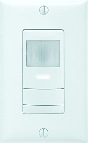 Sensor Switch WSX PDT 2P WH Dual Detection Occupancy Two Pole Wall Switch Sensor, White For Sale