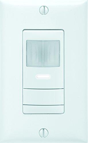 Sensor Switch WSX PDT 2P WH Dual Detection Occupancy Two Pole Wall Switch Sensor, White
