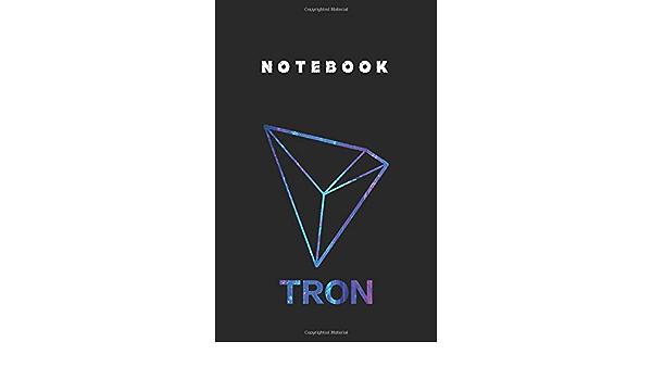 Notebook: Official Logo Tron Trx For Men For Women Hodl ...