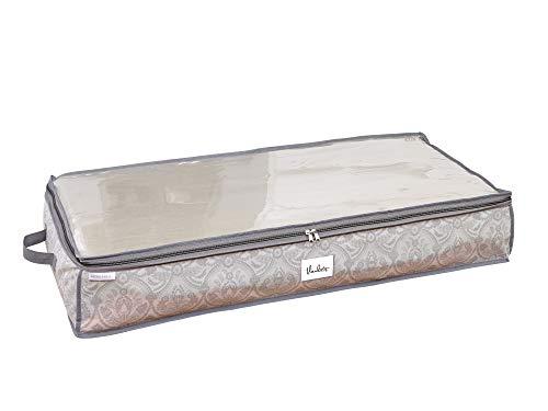 Laura Ashley Bed Storage Bag in Almeida, Dove Grey ()