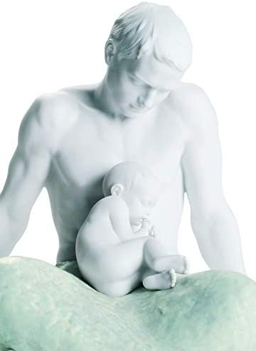 LLADR The Father Figurine. Porcelain Dad Figure.