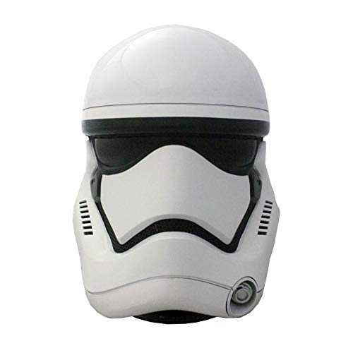 - Star Wars EP 7 Stormtrooper Head White 1:1 Bluetooth Speaker LED Light Limited