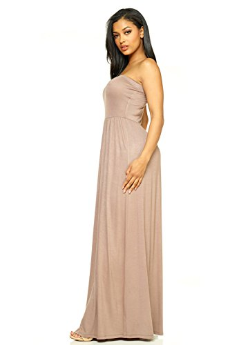 Ceri Cemi Tube Jersey Mocha Dress Strapeless J2 Maxi Women's Love dxTq1x6w