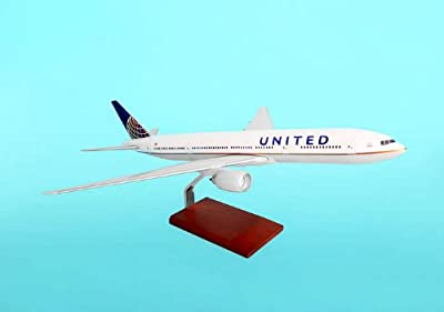 Executive Series Display Models G35010 United 777-200 1-100 Post Continental Merger Livery