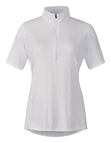 Kerrits Breeze Ice Fil Solid Shortsleeve White Size: Small