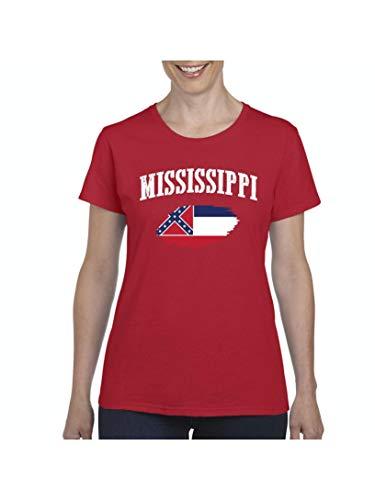 Mississippi Proud Home Jackson Traveler`s Gift Women's Short