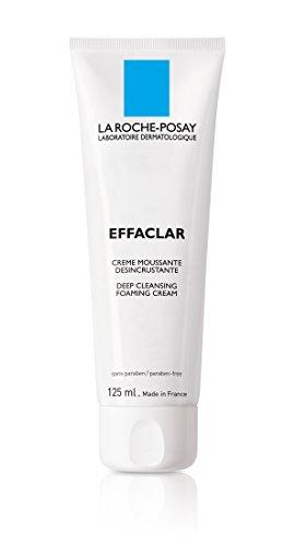 La Roche-Posay Effaclar Deep Cleansing Foaming Cream Cleanser for Oily Skin, 4.2 Fl. Oz.