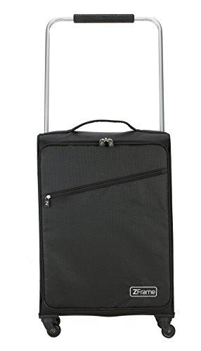 """ZFrame SH22283718BLK 18"""" Black Super Lightweight Suitcase with 10 Year Warranty"""