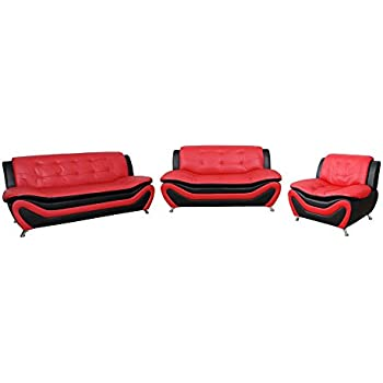 Amazon Com Beverly Fine Furniture Aldo 3 Piece Modern