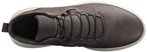 Ecco Mens Scinapse Hoge Top Mode Sneaker Wilde Duif / Donkere Schaduw