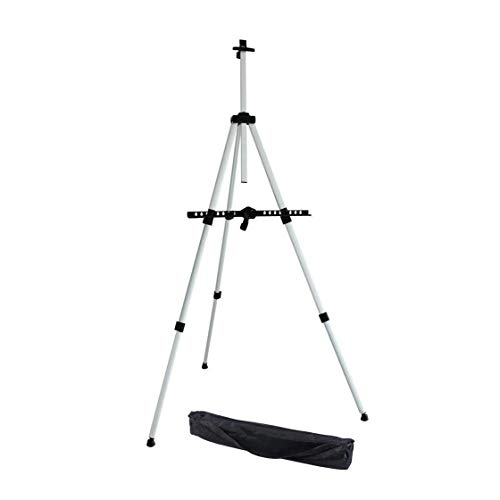 Tripod Display Easel,Transon Aluminum Art Easel,Versatile display stand,Adjustable Height from 20