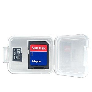 Sandisk 4GB Microsdhc Memory Card With Adapter - Bulk