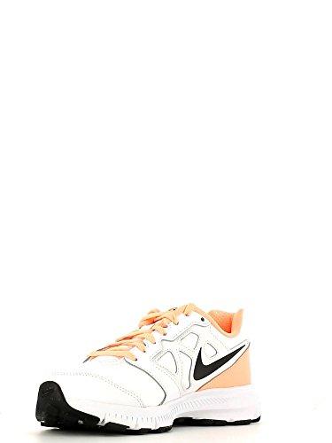 Nike 008 Schwarz Laufschuhe 6 Downshifter Wmns Weiß Runningschuhe 684768 LEA Damen UUSrxZ