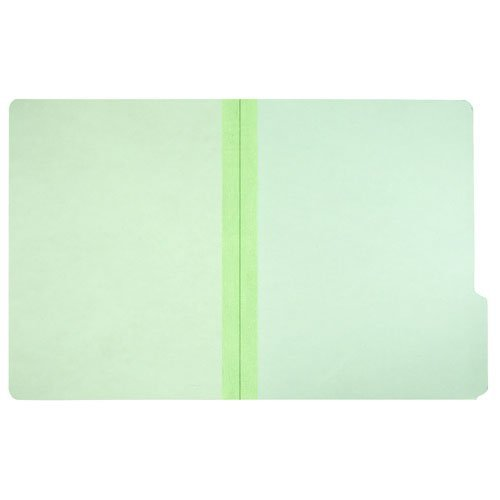 AbilityOne - File Folder-Pressboard-1/3 Cut, Self Tabs, All Positions, Ltr Size, Light Green 7530-00-286-8570 1/3 Cut Pressboard Self Tab