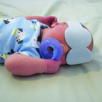 Posey Phototherapy Eye Protectors - Newborn