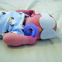 Posey Phototherapy Eye Protectors - - Newborns Eyes