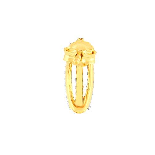 Giantti 14carats Diamant pour femme Créoles boucles d'oreilles (0.484CT, VS/Si-clarity, Gh-colour)