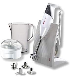 Bamix – Swissline White 200 W – Robot de cocina Batidora de inmersión