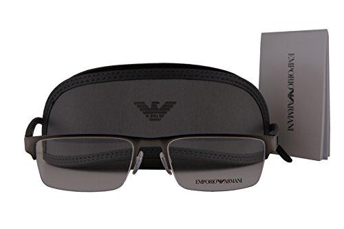 Emporio Armani EA1050 Eyeglasses 53-18-140 Matte Gunmetal 3003 EA - Emporio Arman