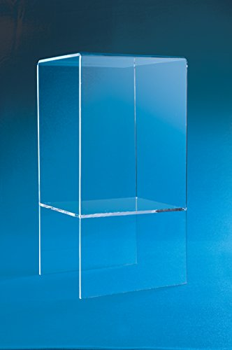 Two Shelf Riser Table | Double Riser | 30'' Tall Display Riser | End Table | Display Stand by Choice Acrylic Displays (Image #1)