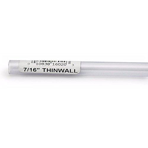 Lee's Thinwall Rigid Tubing 7/16in x 36in by Lee's Pet