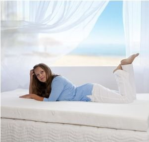 4'' Memory Foam Mattress Topper by Spa Sensations (King)