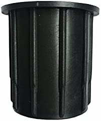 QIQIHOME Patio Umbrella Parasol Base Stand Hole Ring Plug Cover Cap 2.1 – inch Black